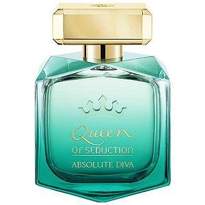Perfume Antonio Banderas Queen Of Seduction Absolute Diva Feminino EDT 80ML