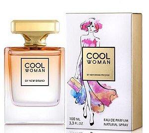 Perfume New Brand Cool Woman Feminino EDP 100ML