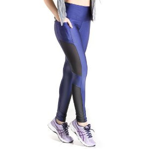 Calça Mama Latina Legging We Fly Azul