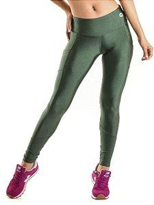 Legging Mama Latina Pro Athlete Running Verde