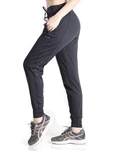 Calça Mama Latina Jogger New Standard Preto