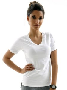 T Shirt Camiseta Mama Latina Gola V Running Branca