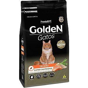 Ração Golden Gatos Castrados Sabor Salmão