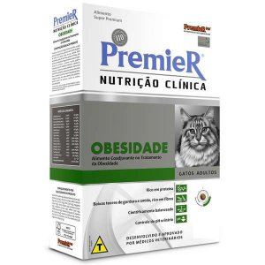 Ração Premier Nutrição Clínica Para Gatos Obesidade 1,5 Kg