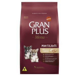 Ração Affinity PetCare Gran Plus Menu Raças Pequenas Frango e Arroz para Cães Filhotes