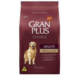Ração Affinity PetCare Gran Plus Choice Frango e Carne para Cães Adultos 15 Kg