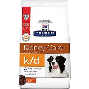 Ração Hills Prescription Diet k/d Cuidado Renal para Cães Adultos