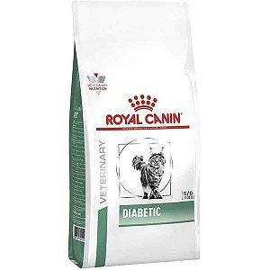 Ração Royal Canin Feline Veterinary Diet Diabetic Gatos Adultos