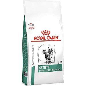 Ração Royal Canin Feline Veterinary Diet Satiety para Gatos Obesos
