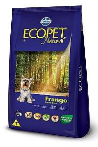 Ração Farmina Ecopet Natural Frango para Cães Adultos de Raças Pequenas