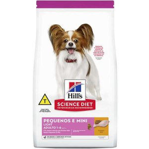 Ração Hills Science Diet Light para Cães Adultos Raças Minis e Pequenas