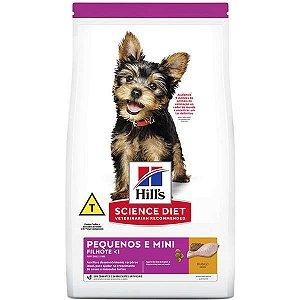 Ração Hills Science Diet Canino Filhote Raças Pequenas e Miniatura
