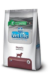 Ração Farmina Vet Life Natural Hepatic para Cães com Insuficiência Hepática