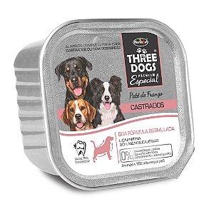 Patê Hercosul Three Dogs Boa Forma Estimulada Para Cães Castrados