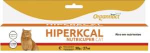 Suplemento Organnact Hiperkcal Nutricuper Cat - 27 mL
