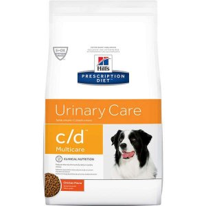 Ração Hills Prescription Diet c/d Multicare Cuidado Urinário para Cães Adultos