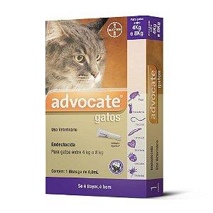 Antipulgas Advocate para Gatos entre 4 e 8kg 1,0ml