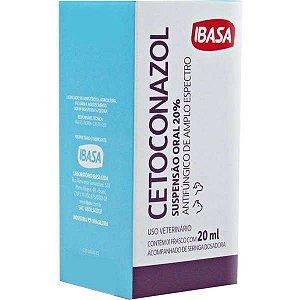 Suspensão Oral Antifúngica Ibasa Cetoconazol 20% - 20 mL