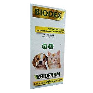 Biodex Comprimido C/20 - Biofarm