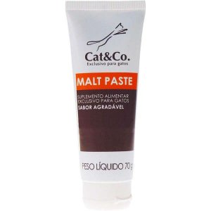 Suplemento Mundo Animal Cat & Co. Malt Paste para Gatos - 70 g