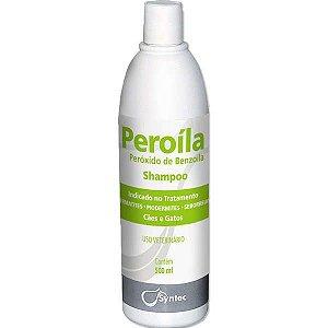Shampoo Dermatológico Syntec Peroíla para Cães e Gatos