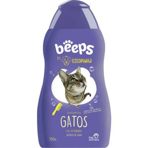 Shampoo Pet Society Beeps Estopinha Gatos