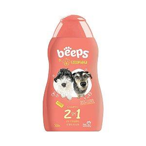Shampoo Beeps para Cães Estopinha 2 em 1