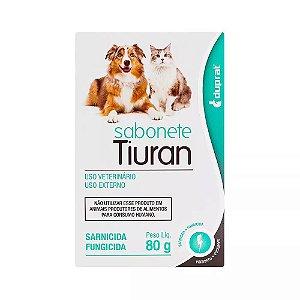 Sabonete Tiuran Sarnicida E Fungicida 80 G