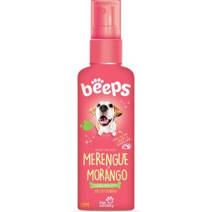 Deo Colônia Beeps Body Splash Pet Society Merengue de Morango