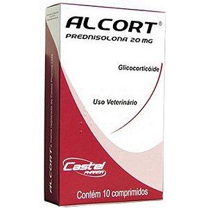 Anti Inflamatório Cepav Alcort 20 Mg - 10 Comprimidos