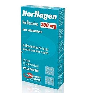 Antibacteriano Norflagen 200Mg 10cps - Agener