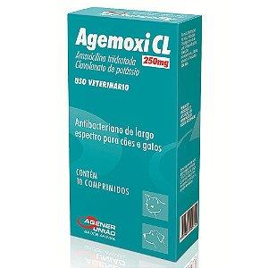 Agemoxi Cl 250 Mg Com 10 Comprimidos