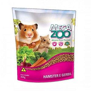 Ração Megazoo - Hamster E Gerbil 350g