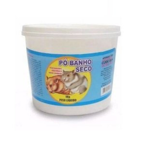 Pó De Mármore Banho Seco Para Hamster Chinchila Ms 1kg
