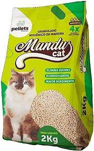 GRANULADO HIG DE MADEIRA MUNDUS CAT 2KG