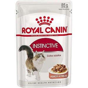Ração Royal Canin Sachê Feline Instinctive Gatos Adultos 85g