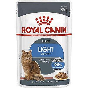 Ração Royal Canin Sachê Light Weight Care para Gatos 85g