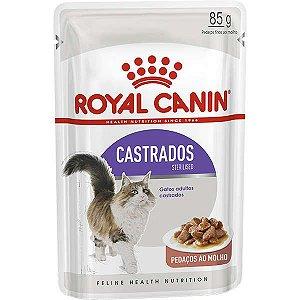 Ração Royal Canin Sachê Feline Sterilised para Gatos Castrados 85g