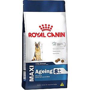 Ração Royal Canin Maxi Ageing 8+ para Cães Adultos de Raças Grandes Idosos com 8 Anos ou mais 15 Kg