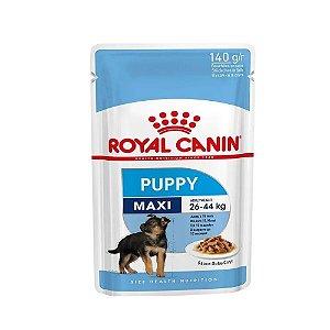 Alimento Úmido Super Premium Royal Canin Sachê Puppy Maxi para Cães Filhotes de Raças Grandes 140g