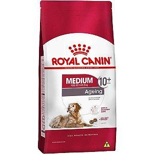 Ração Royal Canin Medium Ageing 10 + para Cães Idosos de Raças Médias com 10 Anos ou mais 15 Kg