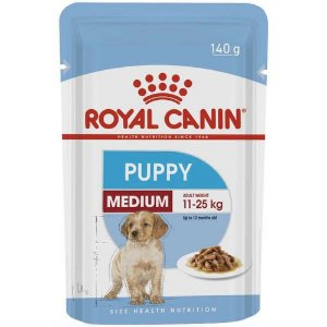 RC Cão Wet Sachê Medium Puppy 140g
