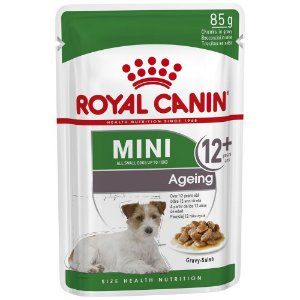 RC Cão Wet Sachê Mini Ageing 12+ 85g