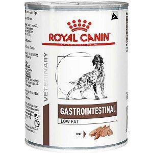 Ração Royal Canin Lata Canine Veterinary Diet Gastro Intestinal Low Fat Wet 410 g