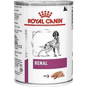 Ração Royal Canin Lata Canine Veterinary Diet Renal Wet para Cães 410 g