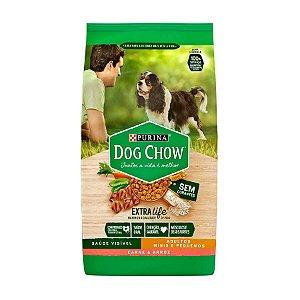 Ração Dog Chow para Cães de Raças Pequenas Sabor Carne e Arroz