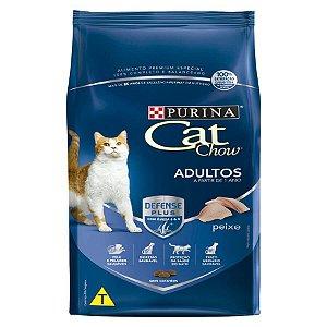 Ração Nestlé Purina Cat Chow para Gatos Adultos sabor Peixe