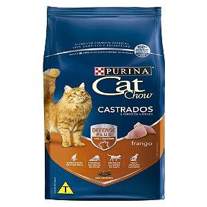 Ração Nestlé Purina Cat Chow para Gatos Castrados sabor Frango