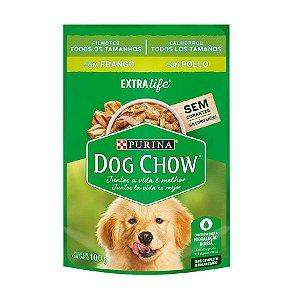 Ração Úmida Dog Chow Sachê para Cães Filhotes sabor Frango 100g