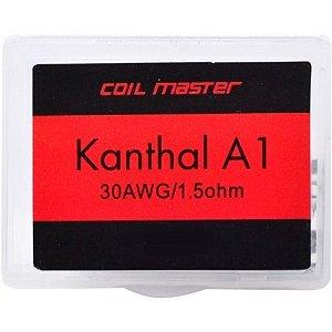 PREBUILT RESISTÊNCIA PRONTA KANTHAL A1 30AWG / 1.5OHM - COIL MASTER